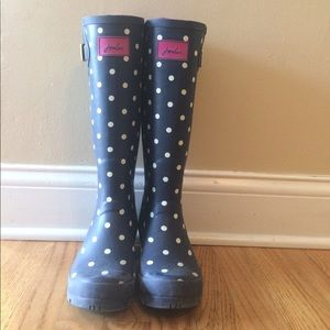 Joules Shoes - Joules polka dot rain boots