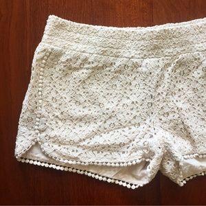 Tinseltown Pants - Crochet Shorts