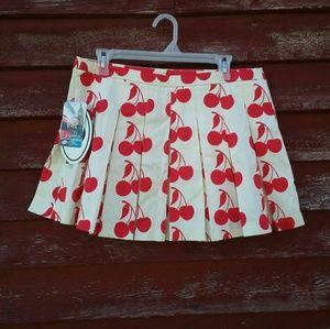 濾 NWT Luella for Target cherry print skirt