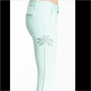 Romeo & Juliet Couture Jeans - 🌴Embroidered Palm Tree Pants🌴