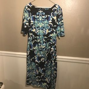 Connected Apparel Dresses & Skirts - Connected Apparel Wrap dress