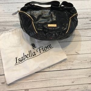 Isabella Fiore Handbags - NWOT Isabella Fiore purse with dust bag in black.