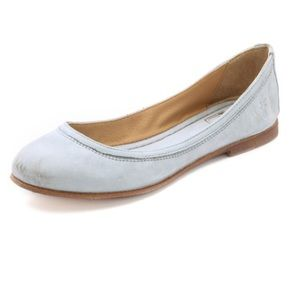 Frye Shoes - Frye Flats Color Ice Size 7.5