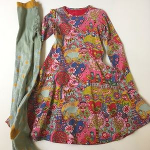 Oilily Other - Oilily Dress & Tights Size 8 (128)