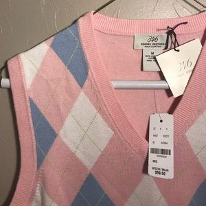 "Brooks Brothers Sweaters - Brooks Brothers ""346"" Argyle Golf Sweater Vest NWT"
