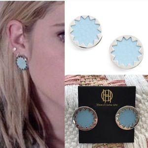 House of Harlow 1960 Jewelry - NWT house of Harlow sunburst earrings blue