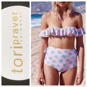 Tori Praver Swimwear Other - Tori Praver 2 piece bikini set