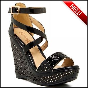 Elegant Shoes - ❗️1-HOUR SALE❗️SANDALS Wedge Sandals High Heels