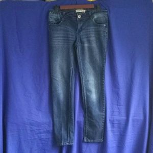 Paris Blues Denim - Paris Blues Dark Wash Skinny Jeans, Size 9