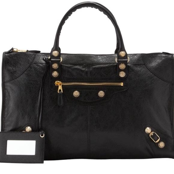 ab602521a0 Balenciaga Handbags - Balenciaga Giant 12 Golden Work Bag