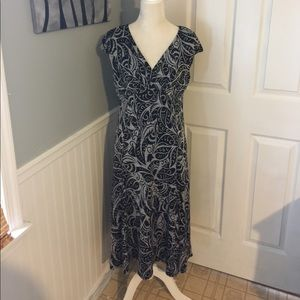 Glamour & Co. Dresses & Skirts - Glamour dress black and gray