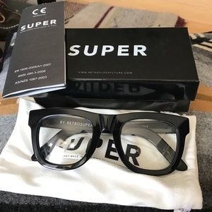 RetroSuperFuture Accessories - NEW Retro Super Future Black Unisex Glasses
