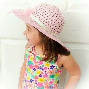 Other - 🎉HOST PICK!🎉⭐Girls' Sun Hat in pink