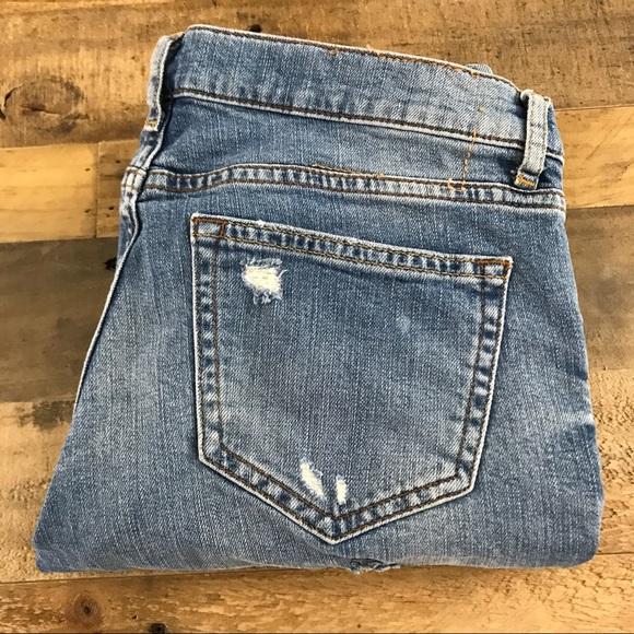 zara zara woman ripped distressed boyfriend jeans 4 from. Black Bedroom Furniture Sets. Home Design Ideas
