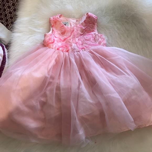 off marmelleta Other Pink tutu baby girl dress size