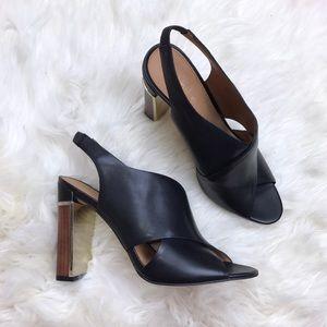 Calvin Klein Shoes - Calvin Klein Cross Strap Slingback Karel Sandal