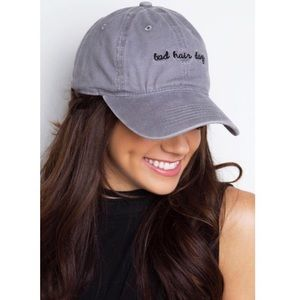 74 off accessories bad hair day hat cap baseball hat