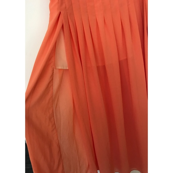 anthropologie anthro maeve zocalo high slits pleated