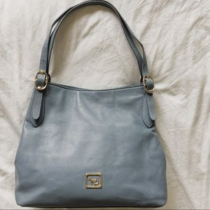 Emma Fox Handbags - Emma Fox pastel blue shoulder bag