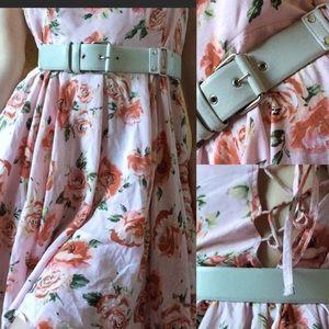 Doo.Ri Accessories - Doo Ri New York Leather Mod White Stud Waist Belt