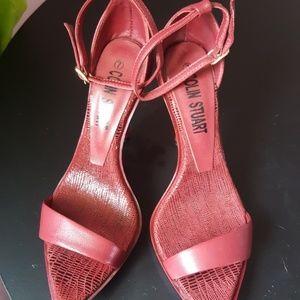 Burgundy Red St rappy Heels