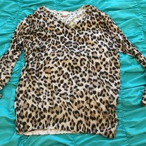 Michael Kors leopard blouse