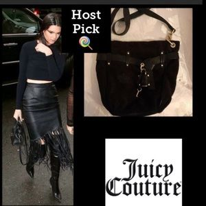 Bird by Juicy Couture Handbags - 🌹HP🌹Juicy Couture🖤VintageLeatherVelour Lock/Key