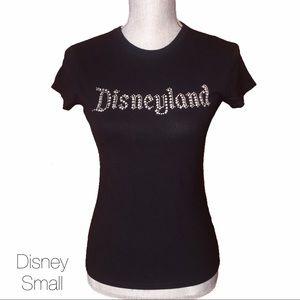Disneyland Resort Black Bling Rhinestone Top Sm