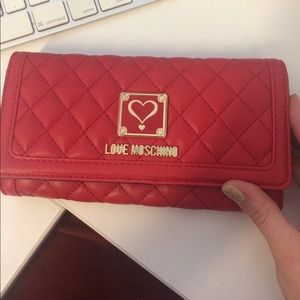 Brand new Love Moschino wallet with tags