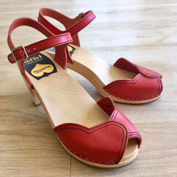 Heart Shaped Peep Toe Shoes