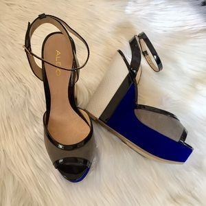 Aldo Shoes - Aldo Wedges Blue