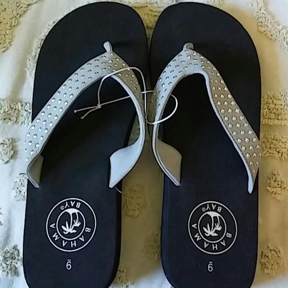 78f4cbd59a0a5c Bahama Bay Shoes - NWOT Bahama Bay Platform Flip Flops