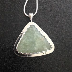 Handmade by Me Jewelry - 28 Ct Aquamarine Pendent Handmade