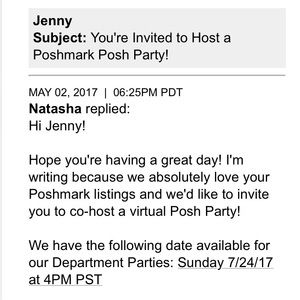 Vintage Other - Woot! I'm gonna host a posh party!