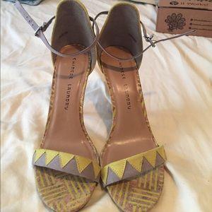 Fun strappy heel!