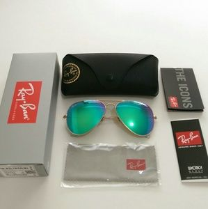 Ray-Ban Accessories - Authentic Green Ray Ban Aviator