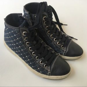 Geox Other - Geox High Tops Size 35 (3.5 US) Super Cool
