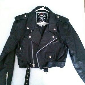 contempo casuals Jackets & Blazers - Vintage contempo moto / biker jacket