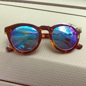 58 Off Diff Eyewear Accessories Diff Dime Purple