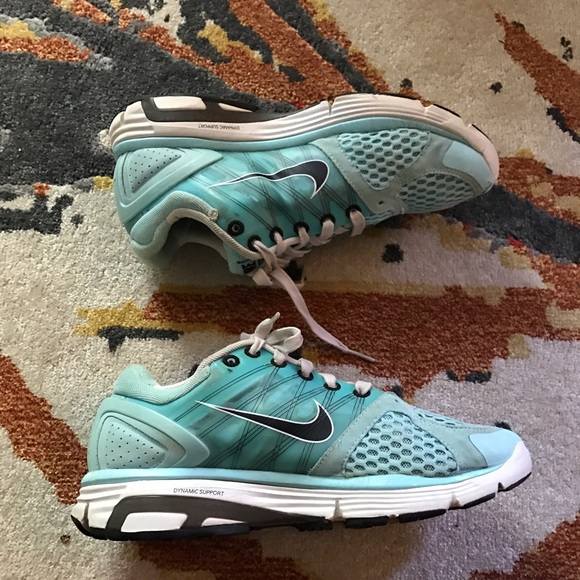 off Nike Shoes Adorable Baby Blue Nike Running Shoes