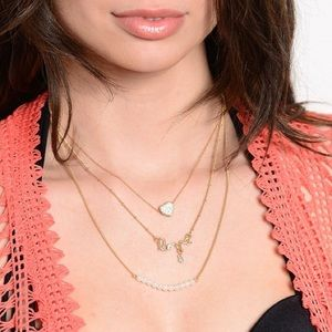 Jewelry - Dainty Gold Love Necklace
