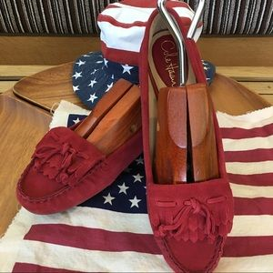 Cole Haan Shoes - Cole Haan Red Loafers Women's Size 10B NEW