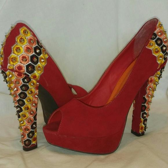 3c9ce0a2cf Liliana Shoes | Killer Studded Heels | Poshmark