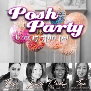 Posh Virtual Party! 6/22