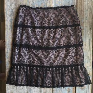 Kay Unger Dresses & Skirts - Kay Unger Lace Skirt