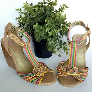 Seychelles Shoes - Seychelles Multicolored Wedges