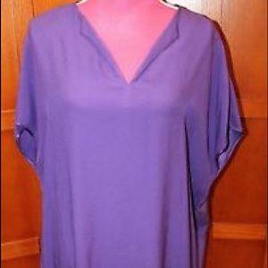 Dvf kora dress-purple-size P