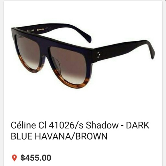 33d330f0d5c9 Original Celine CL 41026 S SHADOW sunglasses