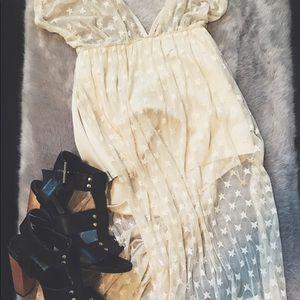 Halter brief style dress