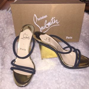 Christian Louboutin Shoes - 🎉HP🎉 ⭐️SALE⭐️Christian  Louboutin Slides